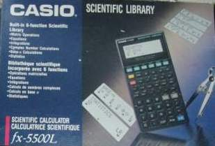Casio original brand new fx-5500la scientific calculator in box fx.