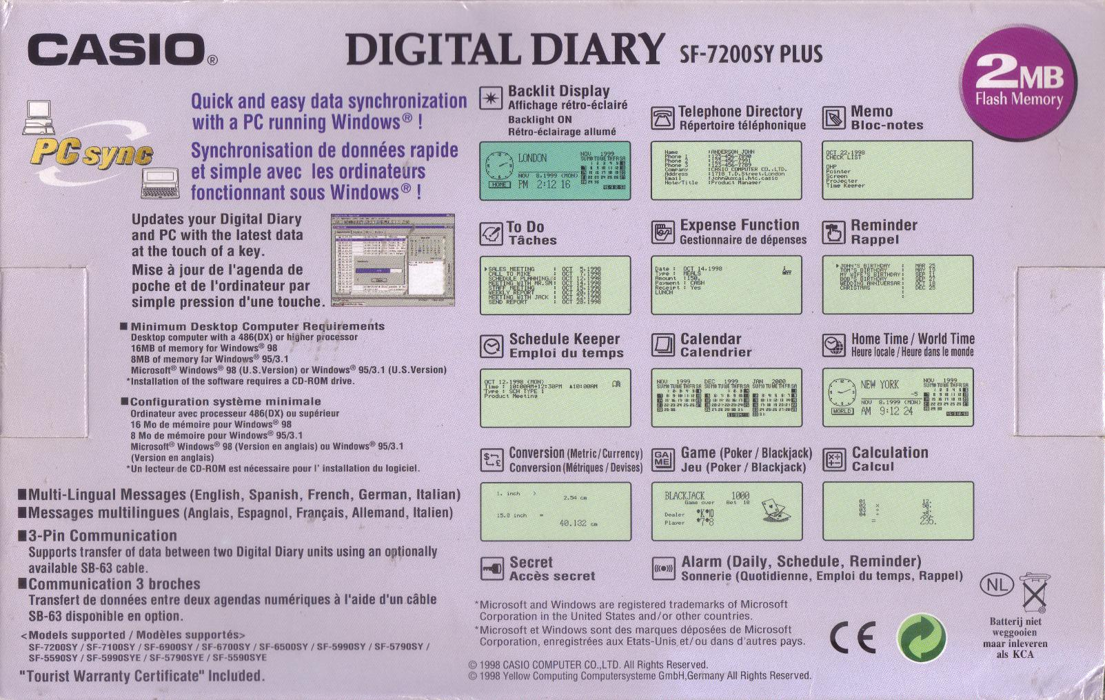 market segmentation in casio digital diary Browse and read casio sf 7100sy 7200sy digital diary 1999 repair manual parts list after published, this book can steal the market and book.