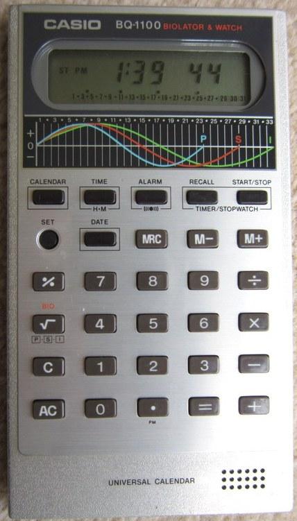 Casio BQ 1100 Calculatrice LCD Casio BQ1100 Casio tZUW1