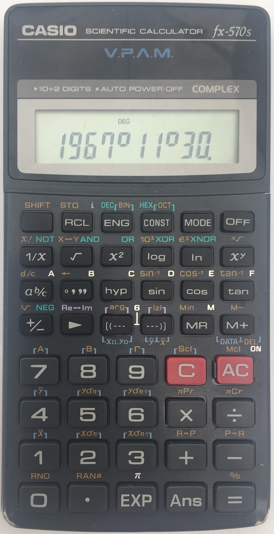 casio fx 100s vpam manual
