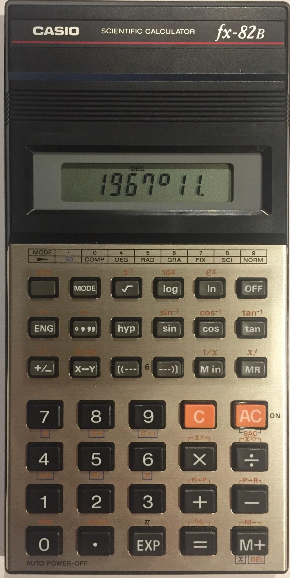 CASIO Fx-82B - Ordinateurs De Poche & Calculatrices Casio