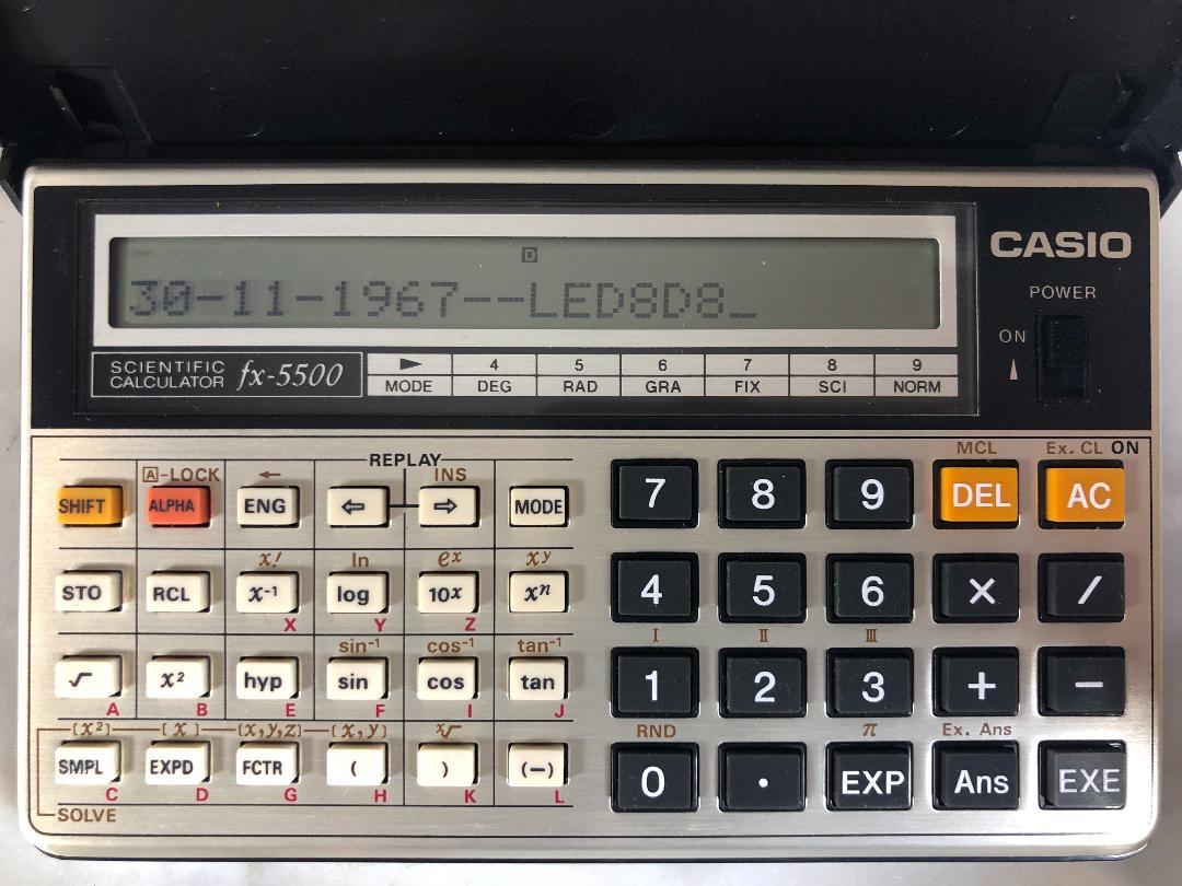 Casio Pb  Fa  History Of Comouter    Casio And