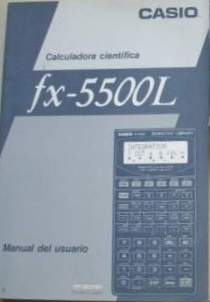 Casio fx 5500la manual pdf.