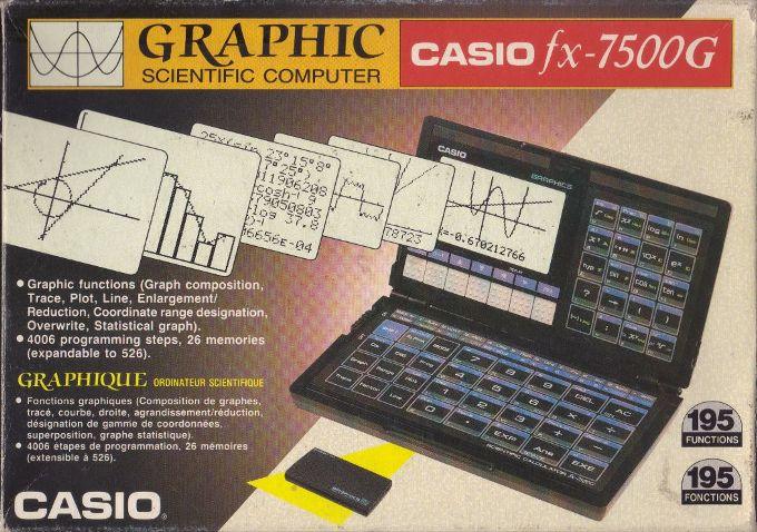 Casio fx-7200g manual