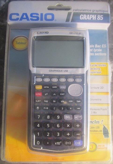Casio GRAPH 85 Graphic calculator Casio GRAPH 85 Casio  AUWHf