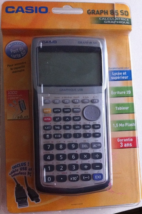 85 GRAPH CALCULATRICE TÉLÉCHARGER CASIO