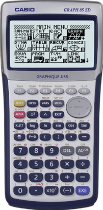 Casio GRAPH 85 SD Graphic calculator Casio GRAPH 85 SD  u6eXI