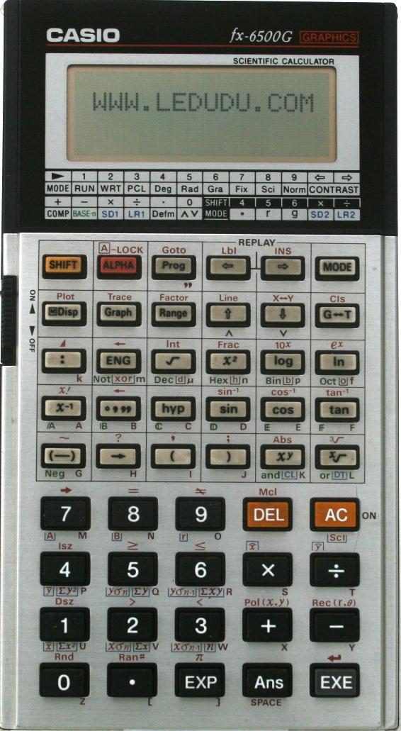 Calculadora casio fx-115s manual