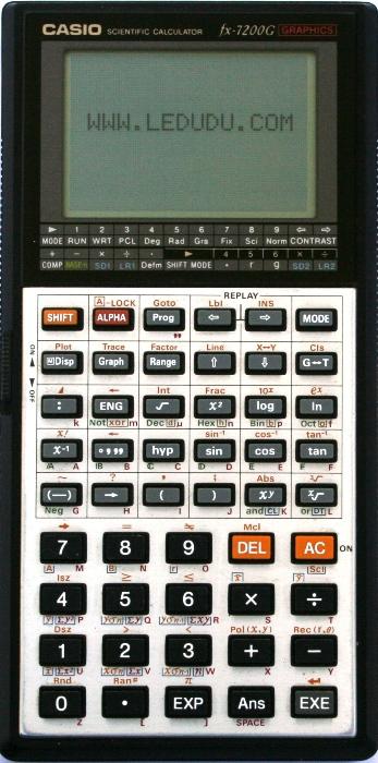 CASIO FX-6300G Owner s Manual