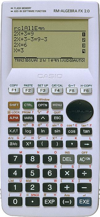 Casio Algebra FX 2.0 Graphing Calculator